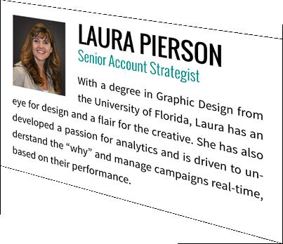 Laura Pierson, Senior Account Strategist
