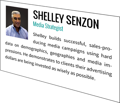 Shelley Senzon, Media Strategist