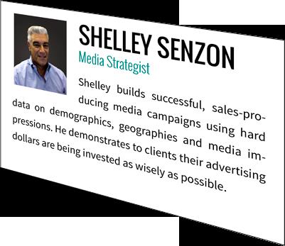 Shelley Senzon, Media Strategist