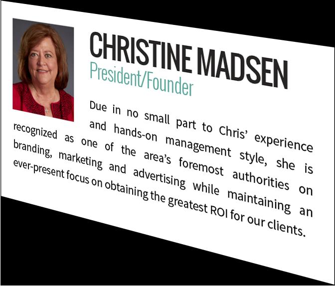 Christine Madsen, President / Founder